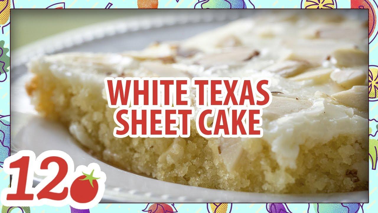 How To Make White Texas Sheet Cake