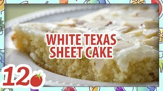 How to make: White Texas Sheet Cake Recipe