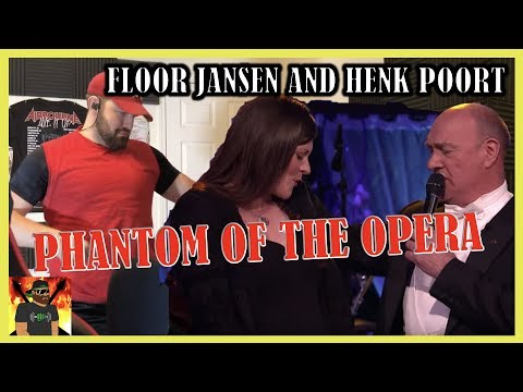 I'm Gonna Die! | Floor Jansen & Henk Poort - Phantom Of The Opera | Beste Zangers 2019 | REACTION