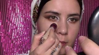 Turkmen peri gyzlarymyz uchin makeup.Gulshat Baltayeva.For asian girls makeup tutorial.