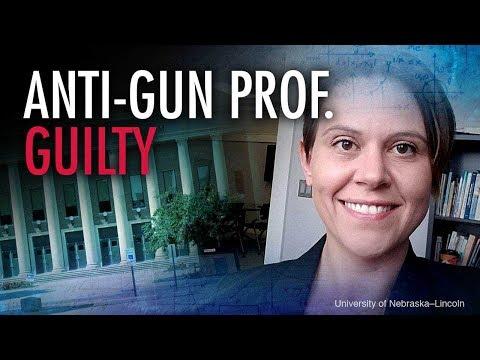 Anti-Gun Prof Found Guilty Of Fake Blood Vandalism | Campus Unmasked