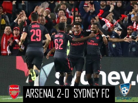 Download Arsenal 2-0 Sydney FC - All Goals & Extended Highlights - Friendly Match - 13/07/2017 - HD