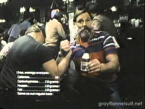 Miller Lite TV Commerial 1982 feat. Ben Davidson