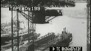 1920s Newcastle upon Tyne, Tyne Bridge and shipbuilding