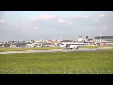 EPWA Okęcie - Lotnisko Chopina - Warsaw Chopin Airport - starty i lądowania / landings and takeoffs