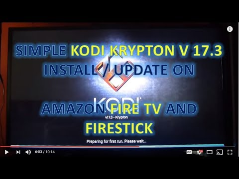 03a303d3e522 Complete beginners guide to Install / Update to Kodi Krypton V17.3 Amazon  Firestick   Fire TV