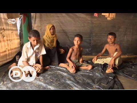 Arakanlı mülteci çocukların dramı - DW Türkçe
