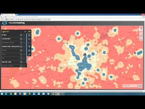 Big Data Map Visualizations with Visual Crossing 4