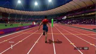 London 2012 100m new WR 9.43