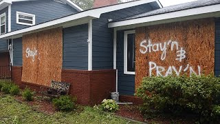 Stay\'n and pray\'n through Hurricane Florence in Southport, NC