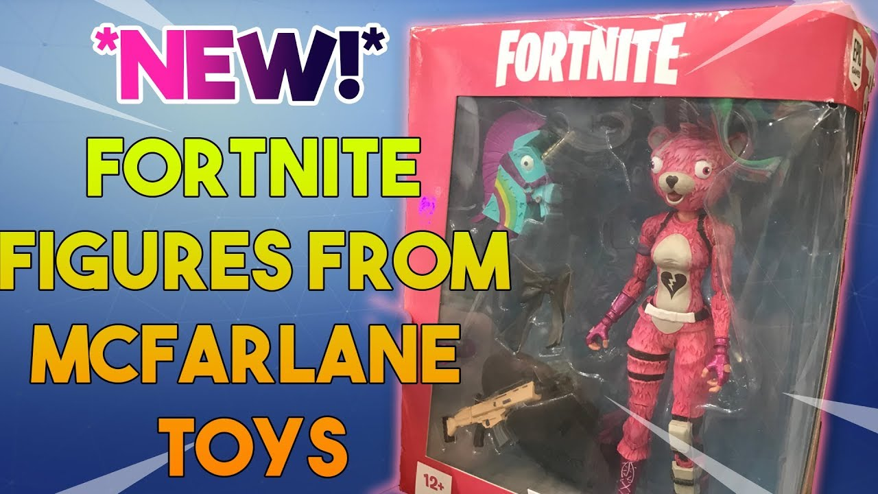 New Fortnite Figures From Mcfarlane Toys Youtubedownload Pro
