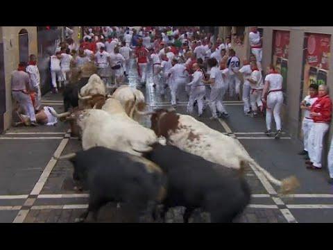 Al menos cuatro heridos en el inicio de la tradicional celebración de San Fermín