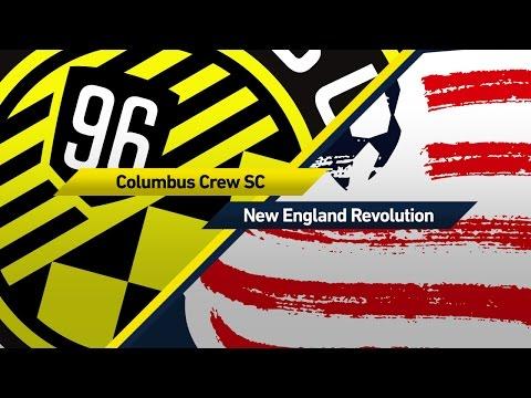 Highlights: Columbus Crew SC vs. New England Revolution   May 6, 2017