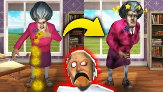ОТРАВИЛ ЖУКАМИ Злюку Бабку УЧИТЕЛЬНИЦУ Мисс Ти! - Scary Teacher 3D