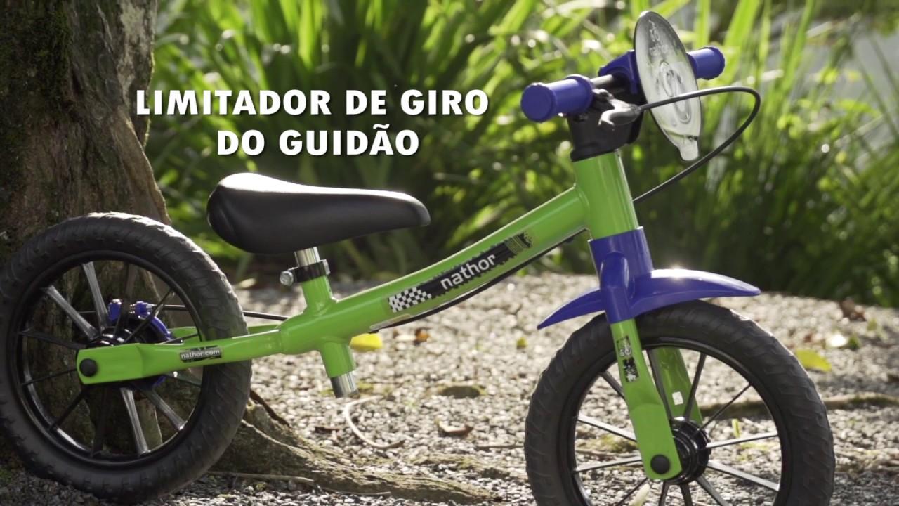 c7adb4fcb7 Nathor Balance Bike - A bicicleta do equilíbrio - YouTube