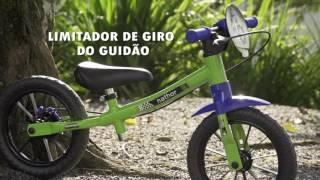 Nathor Balance Bike - A bicicleta do equilíbrio