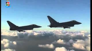 Film Intero Minaccia Aerea - Caccia Eurofighter 2000 Typhoon Aeronautica Militare
