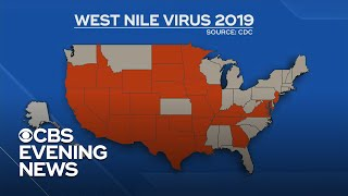 West Nile virus reported in at least 26 states
