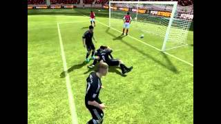 A  Carroll kiss fabianski in fifa 12