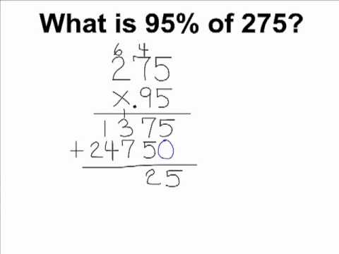 Find The Percentage Of A Given Number Youtube