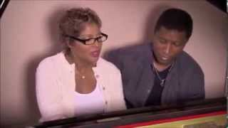 Toni Braxton singing and playing the piano to Babyface