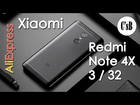 Xiaomi Redmi Note 4X 3/32 Полный обзор и сравнение с Note 4 (с AliExpress)