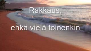 Anna Puu - Kaunis päivä [lyrics]