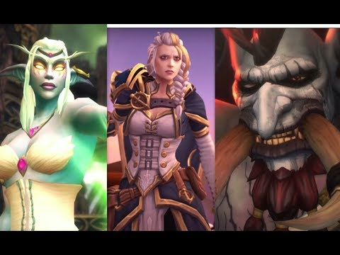 Personajes que regresan en WoW Battle for Azeroth!