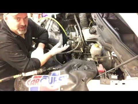 How To Replace Dodge Ram 5.7L Hemi Water Pump