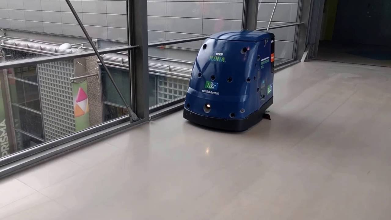 Ilona The Cleaning Robot