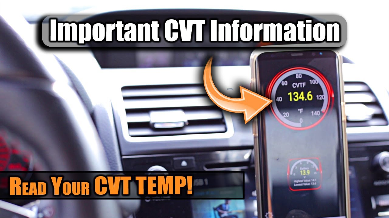 How to Read WRX CVT Transmission Temperature with OBDLink LX