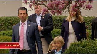 Ủy ban Thượng viện ra trát đòi con trai ông Trump (VOA)