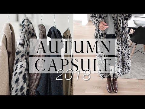 Autumn capsule wardrobe | Part 2: overview, haul & lookbook