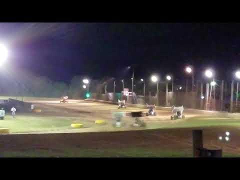 Ryan Quackenbush URC heat race Georgetown Speedway September 21, 2018