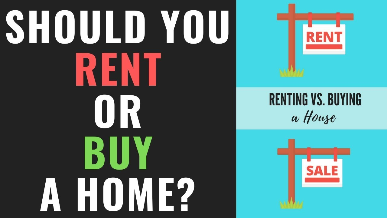 Should You Buy A Home Or Rent Renting Vs Buying A Home Youtube