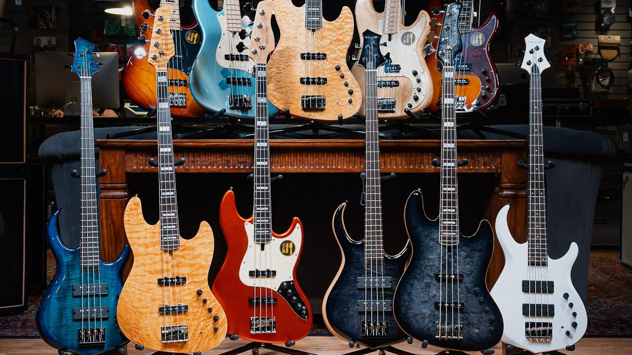 Download Marcus Miller Introduces Sire Basses   CME Gear Demo