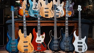 Marcus Miller introduces Sire Basses | CME Gear Demo