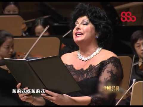 Jasmine (Chinese folk song) performed by Ildiko Komlosi