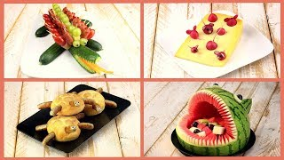 4 Rezepte für gesunde Party Snacks zum Kindergeburtstag