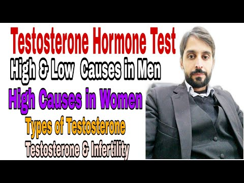 Testosterone Hormone Test (High and Low causes in Men and Women)