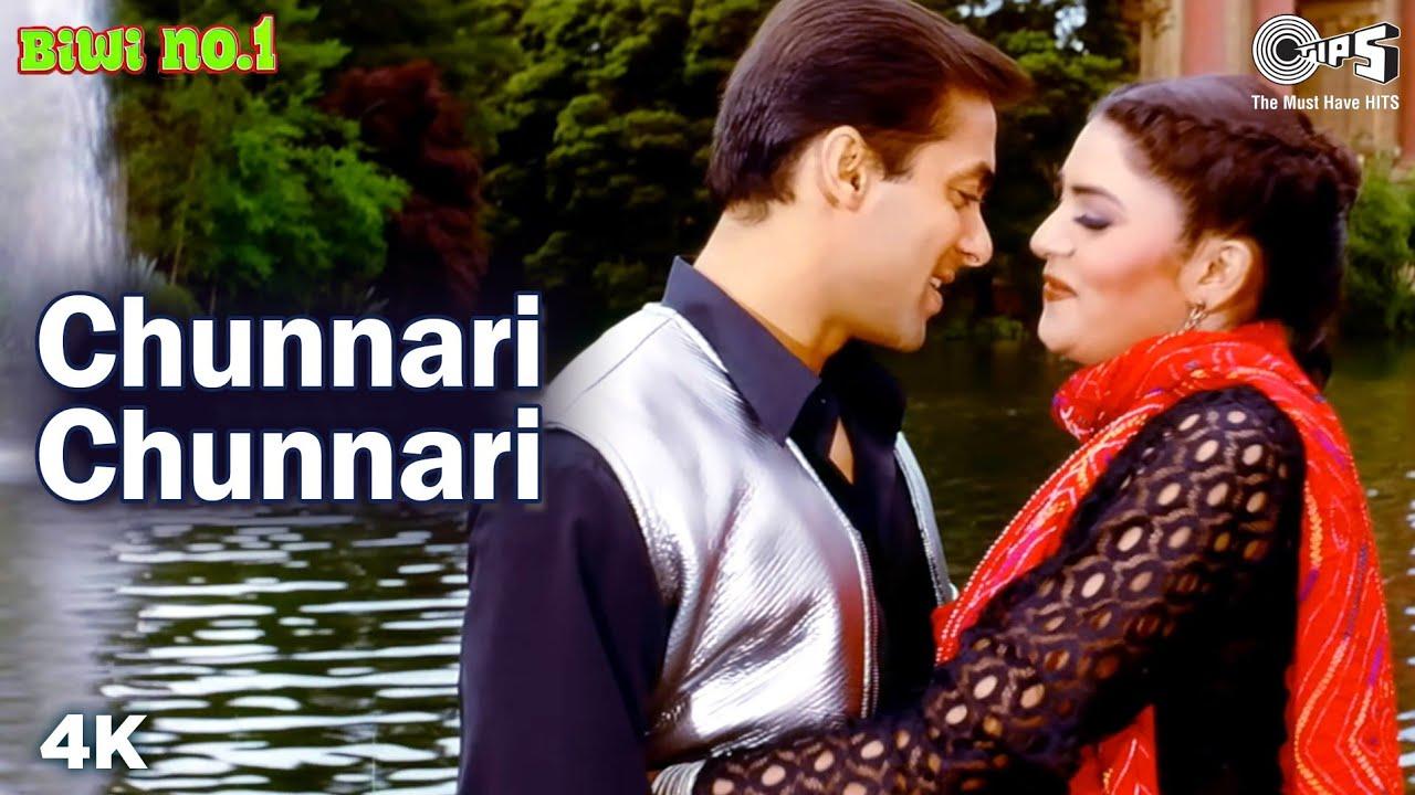 Chunnari Chunnari   Salman Khan   Sushmita Sen   Abhijeet   Anuradha Sriram   Biwi No.1 Movie Song