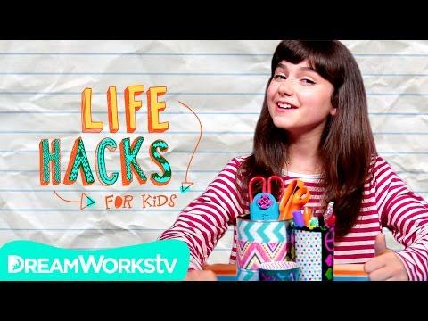 Unmess Your Desk Hacks | LIFE HACKS FOR KIDS