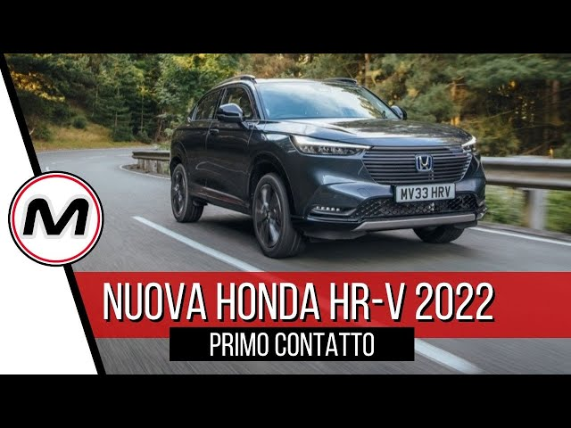 NUOVO HONDA HR-V 2022 | Il B-SUV giapponese si rifà il look, è ibrido e spazioso