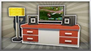 ✔️ Create a GAMING SETUP in Minecraft! (Furniture Fridays)