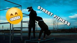 Бодибилдъри опитват Стрийт Фитнес