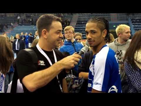 Interview: Raul Santos | 21.12.2013 | VfL Gummersbach vs. TBV Lemgo | Schwalbe Arena