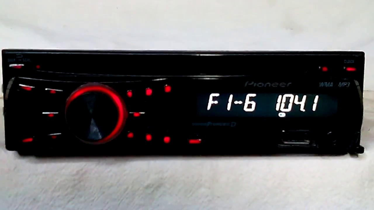 hight resolution of pioneer dxt 2266ub am fm cd player car stereo youtube pioneer dxt 2266ub wiring diagram