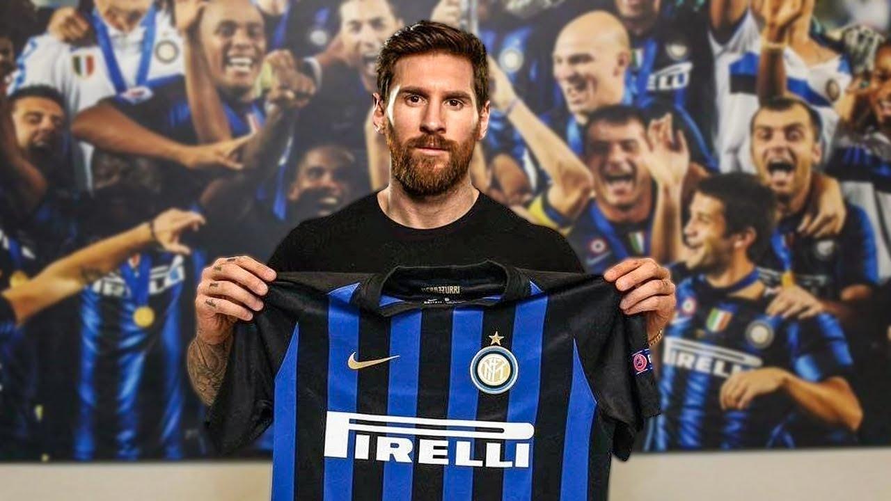 Messi Na Inter De Milão Transferências Do Futebol