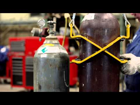 Attollo Lift - The Gas Cylinder Lifting Solution
