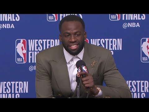Draymond Green Postgame Interview - Game 5 | Warriors vs Rockets | 2018 NBA West Finals